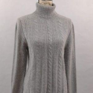 white stag womens sweater angora Sz L
